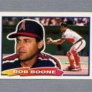 1988 Topps BIG Baseball #030 Bob Boone - California Angels
