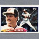 1988 Topps BIG Baseball #026 Larry Sheets - Baltimore Orioles