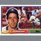 1988 Topps BIG Baseball #022 B.J. Surhoff - Milwaukee Brewers
