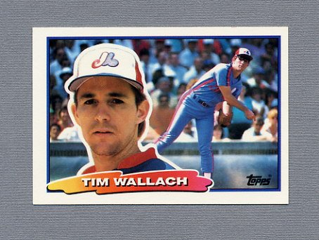 1988 Topps BIG Baseball #007 Tim Wallach - Montreal Expos