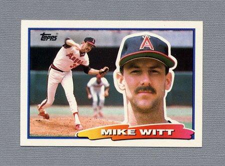 1988 Topps BIG Baseball #004 Mike Witt - California Angels