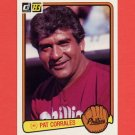 1983 Donruss Baseball #626 Pat Corrales MG - Philadelphia Phillies