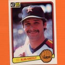1983 Donruss Baseball #620 Alan Knicely - Houston Astros