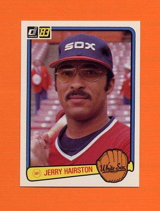 1983 Donruss Baseball #616 Jerry Hairston - Chicago White Sox