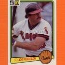 1983 Donruss Baseball #604 Joe Ferguson - California Angels
