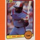 1983 Donruss Baseball #602 Jerry White - Montreal Expos