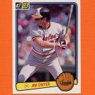 1983 Donruss Baseball #583 Jim Dwyer - Baltimore Orioles