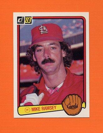 1983 Donruss Baseball #568 Mike Ramsey - St. Louis Cardinals