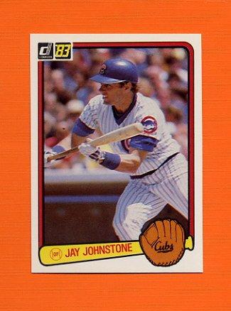 1983 Donruss Baseball #561 Jay Johnstone - Chicago Cubs