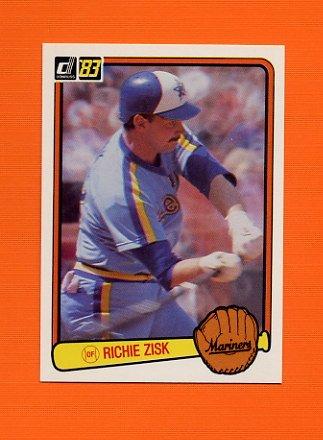 1983 Donruss Baseball #559 Richie Zisk - Seattle Mariners