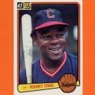 1983 Donruss Baseball #515 Rodney Craig - Cleveland Indians