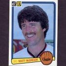 1983 Donruss Baseball #483 Scott McGregor - Baltimore Orioles