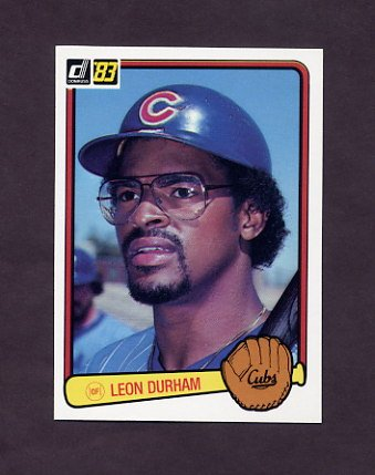 1983 Donruss Baseball #477 Leon Durham - Chicago Cubs