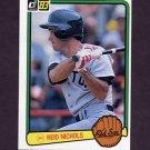 1983 Donruss Baseball #460 Reid Nichols - Boston Red Sox