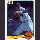 1983 Donruss Baseball #451 Doyle Alexander - New York Yankees