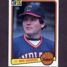 1983 Donruss Baseball #450 Mike Hargrove - Cleveland Indians