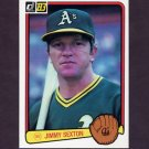 1983 Donruss Baseball #449 Jimmy Sexton - Oakland A's