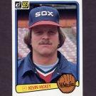 1983 Donruss Baseball #445 Kevin Hickey - Chicago White Sox
