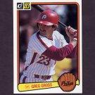 1983 Donruss Baseball #441 Greg Gross - Philadelphia Phillies