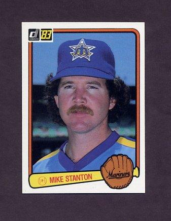 1983 Donruss Baseball #433 Mike Stanton - Seattle Mariners