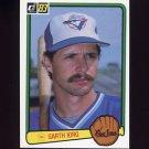 1983 Donruss Baseball #306 Garth Iorg - Toronto Blue Jays