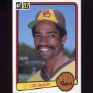 1983 Donruss Baseball #296 Luis DeLeon - San Diego Padres