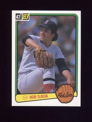 1983 Donruss Baseball #260 Bob Ojeda - Boston Red Sox