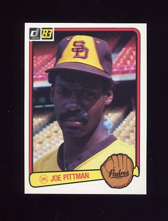 1983 Donruss Baseball #247 Joe Pittman - San Diego Padres