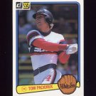 1983 Donruss Baseball #243 Tom Paciorek - Chicago White Sox