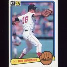 1983 Donruss Baseball #235 Tom Burgmeier - Boston Red Sox