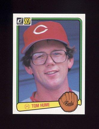 1983 Donruss Baseball #229 Tom Hume - Cincinnati Reds