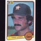 1983 Donruss Baseball #218 Frank LaCorte - Houston Astros