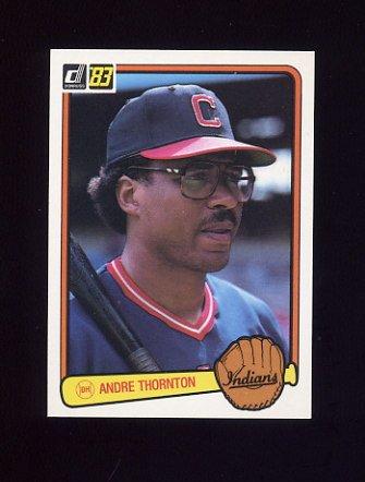 1983 Donruss Baseball #211 Andre Thornton - Cleveland Indians