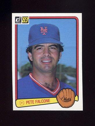 1983 Donruss Baseball #182 Pete Falcone - New York Mets