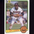 1983 Donruss Baseball #141 Daryl Sconiers - California Angels