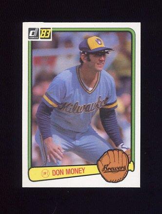 1983 Donruss Baseball #132 Don Money - Milwaukee Brewers
