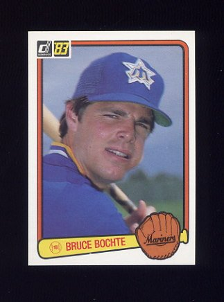 1983 Donruss Baseball #127 Bruce Bochte - Seattle Mariners