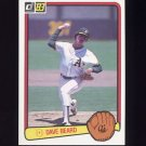 1983 Donruss Baseball #113 Dave Beard - Oakland A's