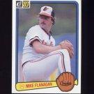1983 Donruss Baseball #105 Mike Flanagan - Baltimore Orioles