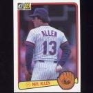 1983 Donruss Baseball #098 Neil Allen - New York Mets