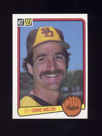 1983 Donruss Baseball #094 Chris Welsh - San Diego Padres