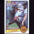 1983 Donruss Baseball #079 Joe Nolan - Baltimore Orioles