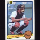 1983 Donruss Baseball #076 John Wockenfuss - Detroit Tigers