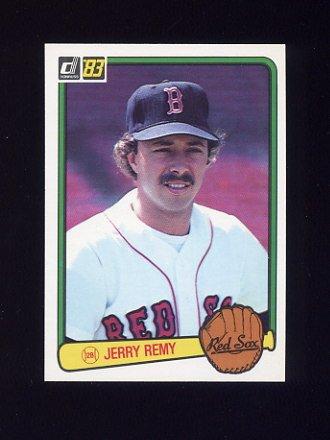 1983 Donruss Baseball #074 Jerry Remy - Boston Red Sox