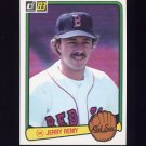 1983 Donruss Baseball #074 Jerry Remy - Boston Red Sox