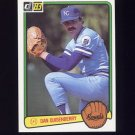 1983 Donruss Baseball #070 Dan Quisenberry - Kansas City Royals