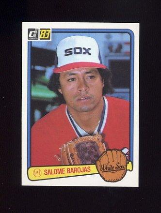 1983 Donruss Baseball #067 Salome Barojas - Chicago White Sox