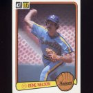 1983 Donruss Baseball #055 Gene Nelson - Seattle Mariners