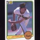 1983 Donruss Baseball #045 Larry McWilliams - Pittsburgh Pirates