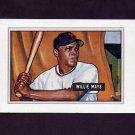 1989 Bowman Baseball Reprint Inserts #07 Willie Mays 51 - New York Giants ExMt